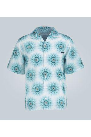 Prada Pois print cotton poplin shirt