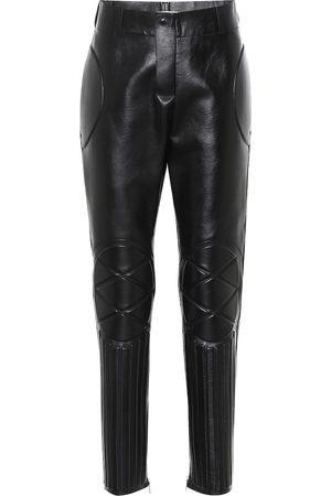 Bottega Veneta High-rise skinny leather pants