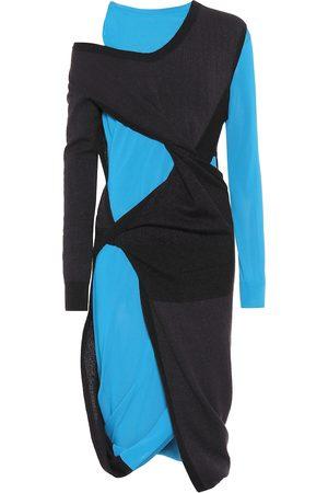 Bottega Veneta Cotton and mohair-blend dress