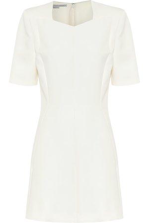 Stella McCartney Mercato wool-blend minidress