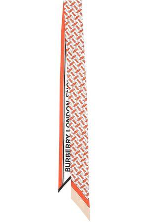 Burberry Monogram silk twill scarf