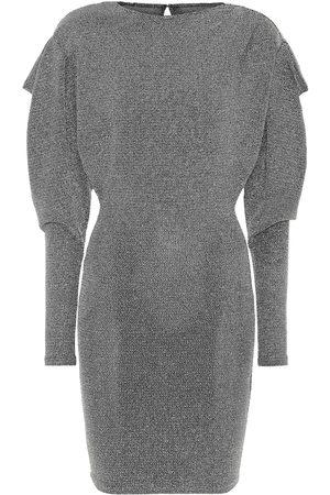 Isabel Marant Waden metallic knit minidress