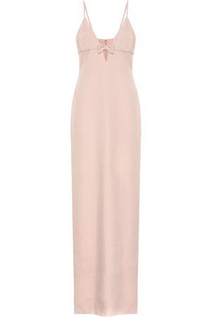 Miu Miu V-neck maxi dress