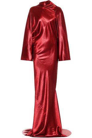 Rick Owens Seb satin gown
