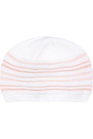 Loro Piana Baby Tiny striped cotton cap