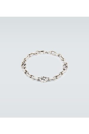 Gucci Interlocking silver bracelet