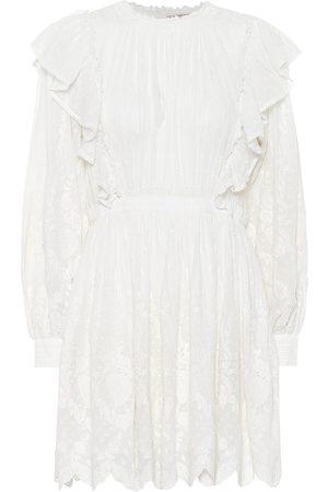 ULLA JOHNSON Dorithie cotton minidress