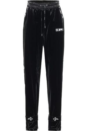 OFF-WHITE Coated nylon trackpants