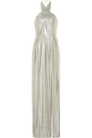 GALVAN Galaxy sequined gown