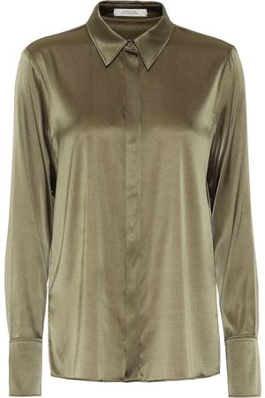 Dorothee Schumacher Sense of Shine satin shirt