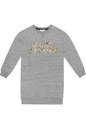 The Marc Jacobs Embellished cotton-jersey sweatshirt