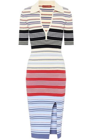 Altuzarra Barkers ribbed-knit midi dress