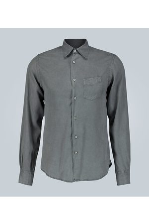 Officine Générale Benoit regular-fit washed twill shirt