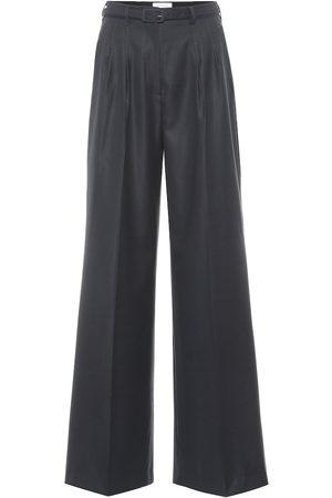 GABRIELA HEARST Exclusive to Mytheresa – Vargas wool and silk wide-leg pants