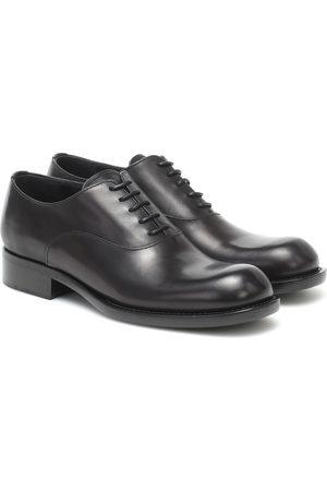 Prada Leather oxford shoes