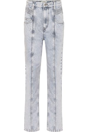Isabel Marant Henoya high-rise straight jeans