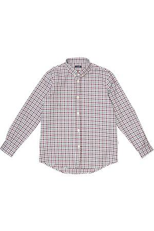Il gufo Checked cotton shirt