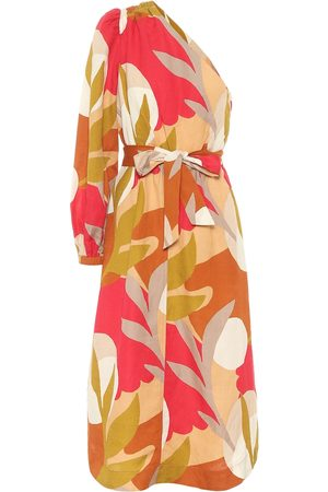Rebecca Vallance Sangria printed midi dress