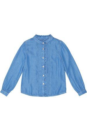Chloé Ruffle-trimmed shirt
