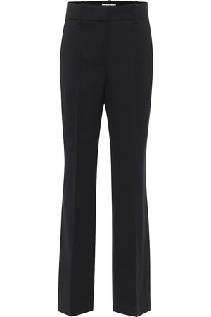Givenchy High-rise straight wool-blend pants