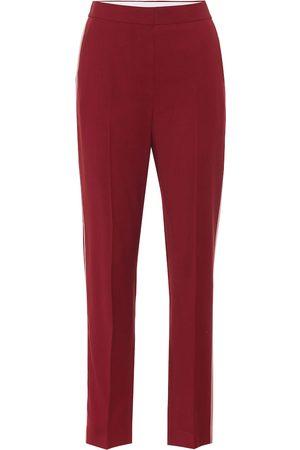 Roksanda Colwyn high-rise wool crêpe pants