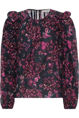 ULLA JOHNSON Medine cotton-blend blouse