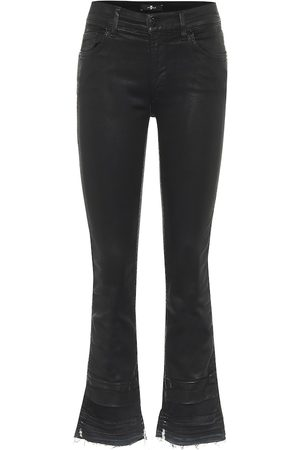 7 for all Mankind Slim Illusion high-rise cropped jeans