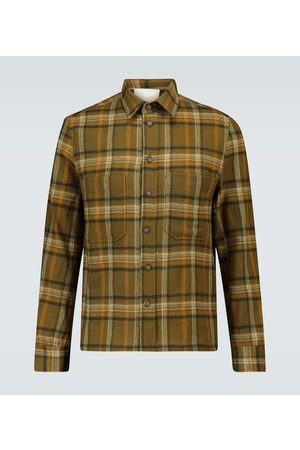King and Tuckfield Checked overshirt
