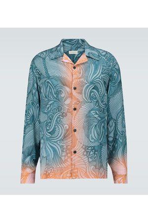 DRIES VAN NOTEN Dip-dye printed shirt