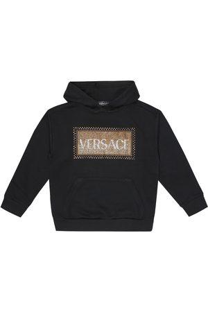 VERSACE 90s Vintage cotton hoodie