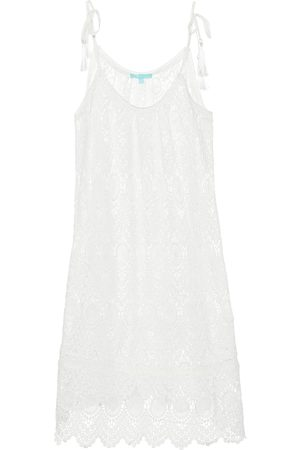 Melissa Odabash Ana knitted cotton minidress