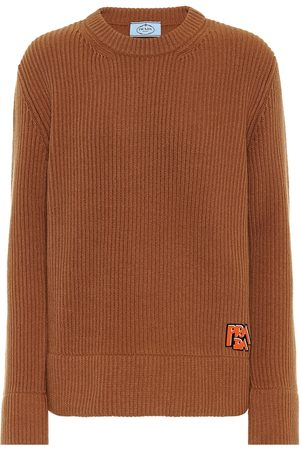 Prada Ribbed cashmere and wool sweater