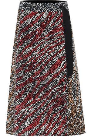 RAG&BONE Colette printed silk midi skirt
