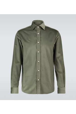 Ralph Lauren Long-sleeved corduroy shirt
