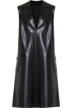 Peter Do Faux leather midi dress