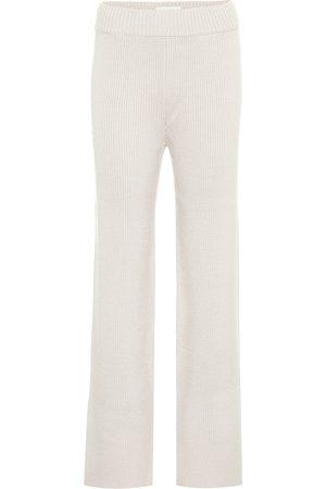 Kirin Ribbed-knit wool-blend pants