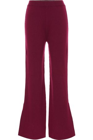 Joseph Mid-rise wool-blend flared pants