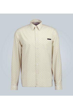 Prada Fruit cotton poplin shirt