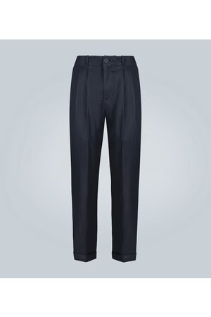 GOETZE Charles double-pleated pants