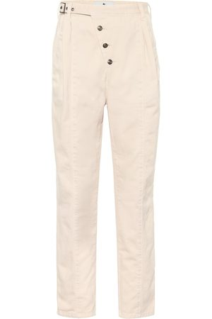 Etro Exclusive to Mytheresa – High-rise cotton tapered pants