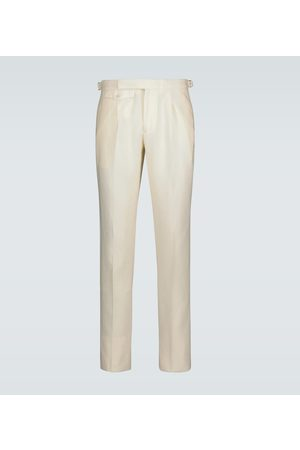 Incotex Slim-fit linen pants