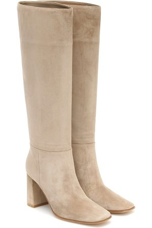 Gianvito Rossi Hynde 85 suede knee-high boots