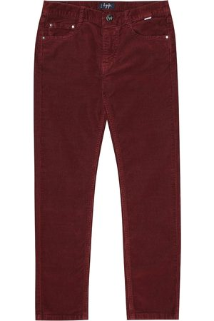 Il gufo Stretch-cotton corduroy jeans