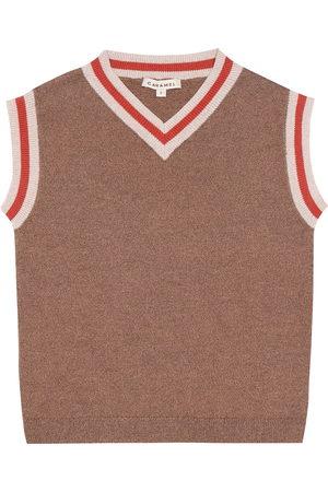 Caramel Embankment cotton vest