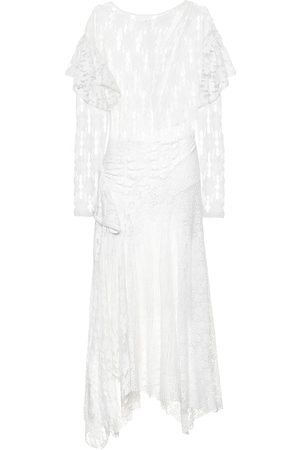 Isabel Marant Vally floral-lace dress