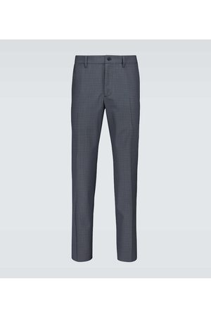 Prada Checked tailored pants
