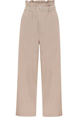 Low Classic Wide-leg paperbag pants