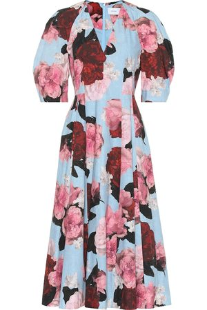 Erdem Exclusive to Mytheresa – Cressida floral cotton-poplin dress