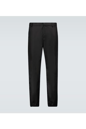 Prada Slim-fit nylon trackpants