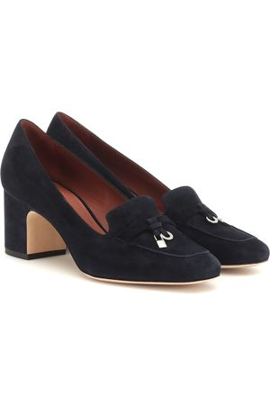 Loro Piana My Charms suede pumps